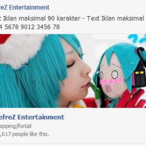 Iklan facebook fanpage dengan news feed