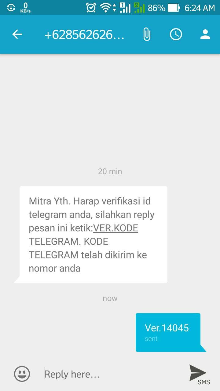Hati Hati Penipuan Verifikasi Ulang Telegram Refrez