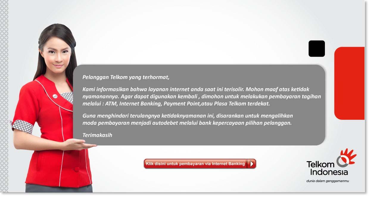 Batas Pembayaran Telkom Indihome Speedy Refrez