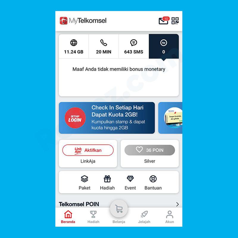 Cara Cek Kuota Kartu Halo Telkomsel Refrez
