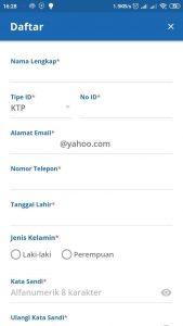 pendaftaran akun kereta api online
