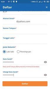 detail pendaftaran akun kereta api online